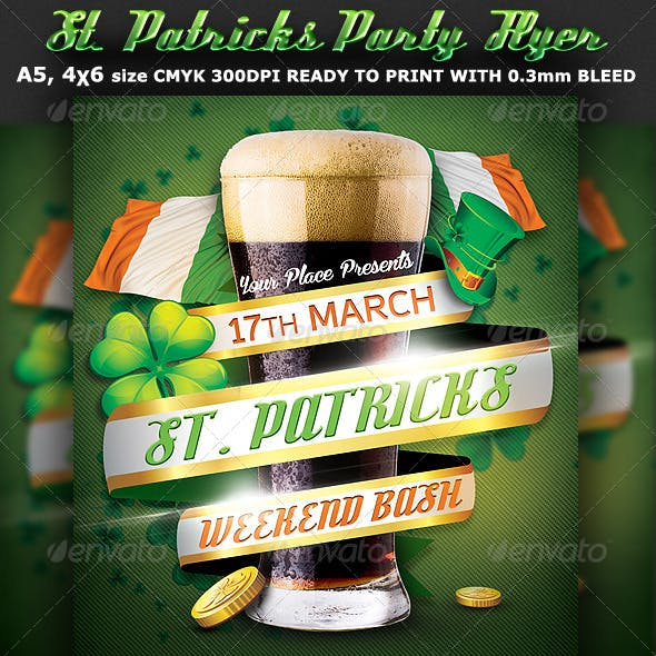 St. Patricks Flyer Template