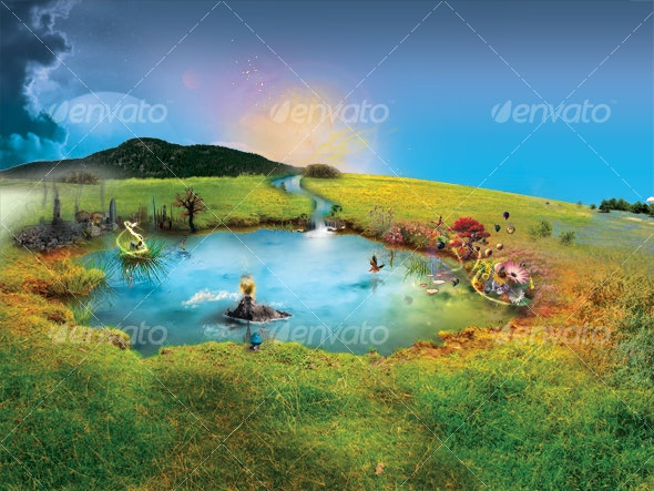 Puddle Of Dreams - Scenes Illustrations