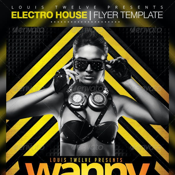 Electro House 2 | Flyer Template
