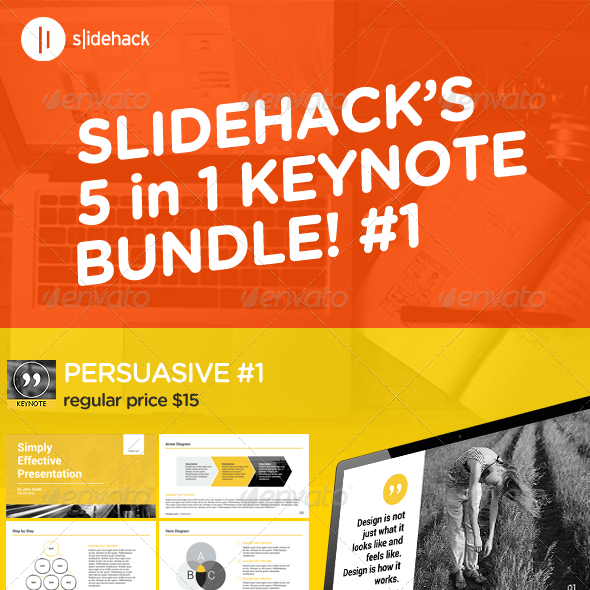 Slidehack's Keynote Bundle #1