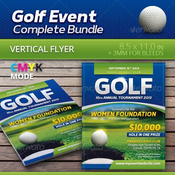 Golf Event Complete Bundle