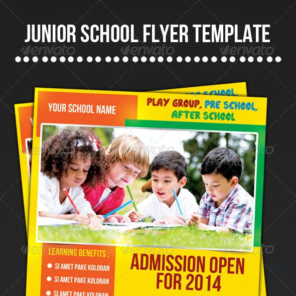 Junior School Flyer