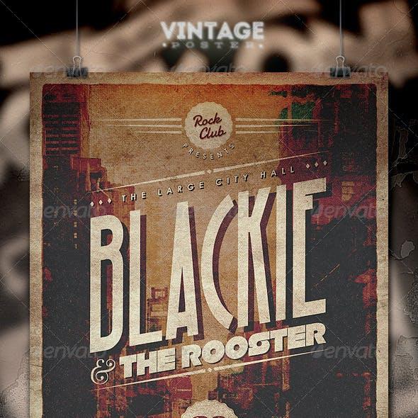 Vintage Poster - II