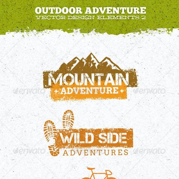 Outdoor Adventure Creative Vector Elements 2