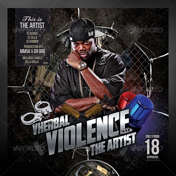 Vherbal Violence (Mixtape Cover)