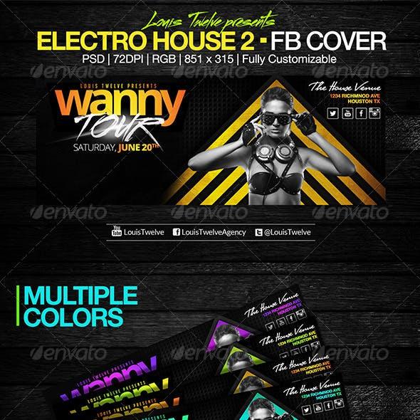 Electro House 2 | Facebook Cover