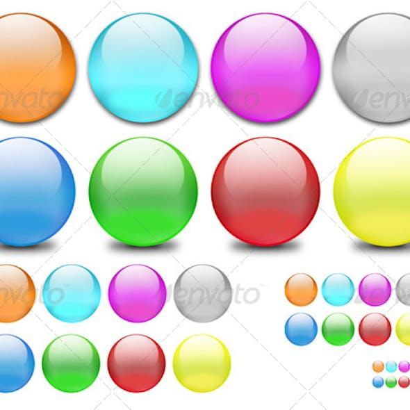 Classic Web 2.0 Shiny Orbs