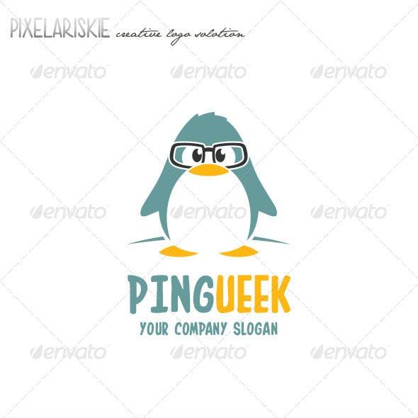 Pingueek Little Pinguin Logo