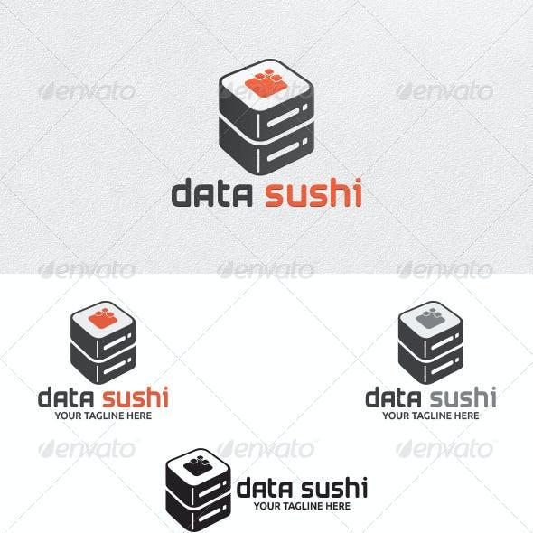 Data Sushi - Logo Template
