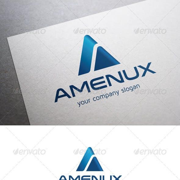 Amenux A Letter Logo