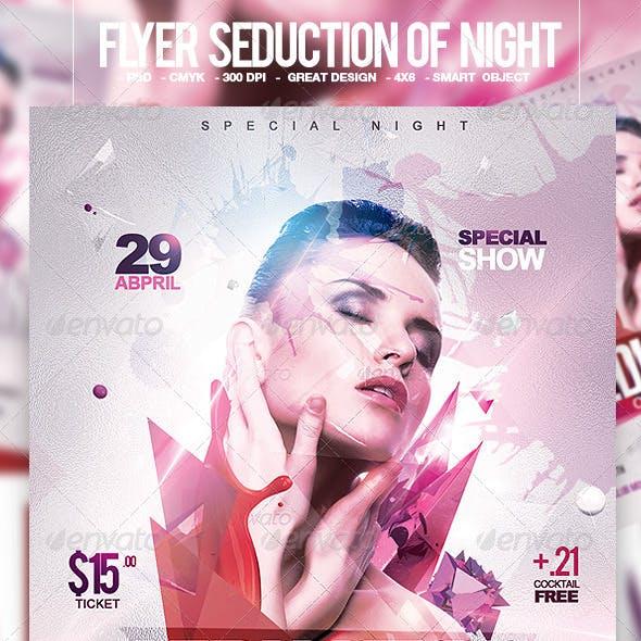 Flyer Seduction of Night