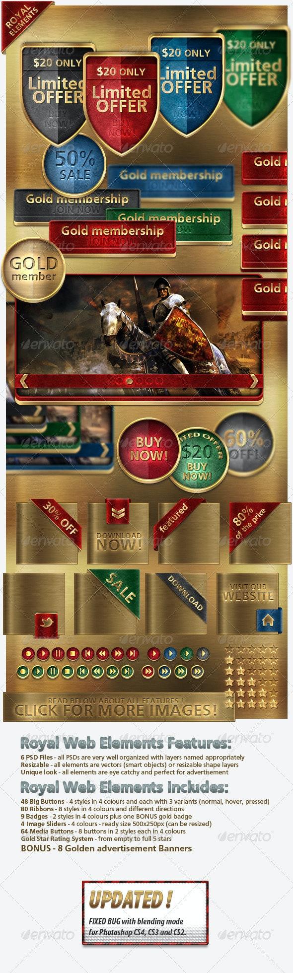 Royal Web Elements - Miscellaneous Web Elements