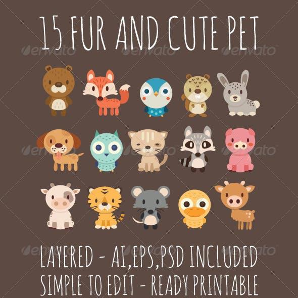 15 Fur Pets