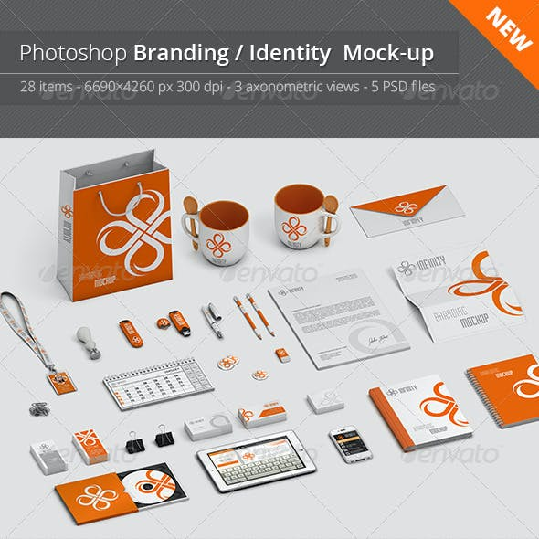 Stationery / Branding Mock-Up V.1
