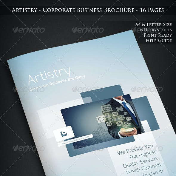 Artistry - Corporate Business Brochure - 16 Pages