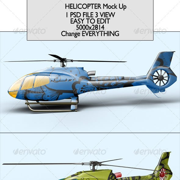 Helicopter Mock Up