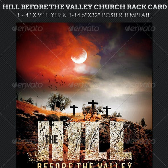 Hill Before Valley Flyer Poster Template