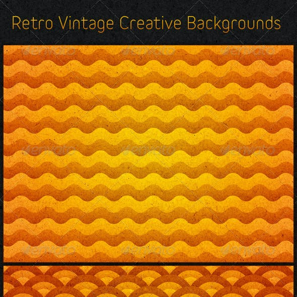 Retro Vintage Creative Backgrounds
