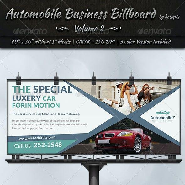 Automobile Business Billboard | Volume 2