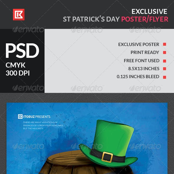Exclusive St Patrick's Day Poster