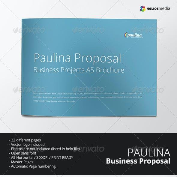 Paulina Business Proposal Brochure