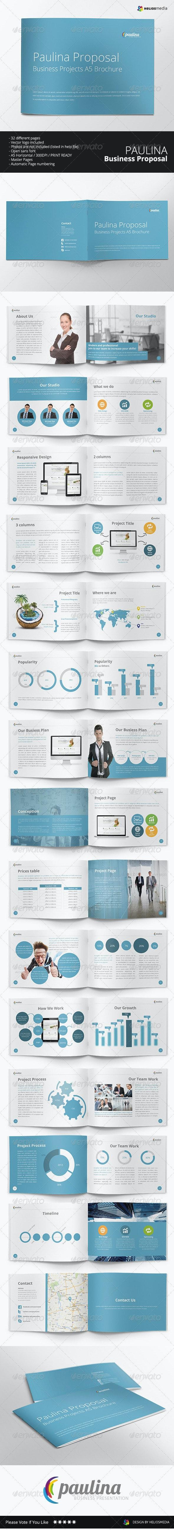 Paulina Business Proposal Brochure - Corporate Brochures