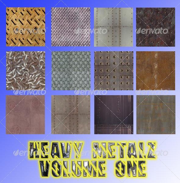 Heavy Metalz Texturez Volume One - TTD - Backgrounds Graphics