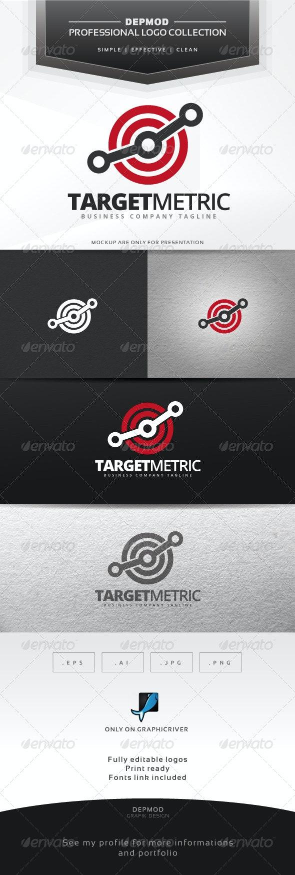 Target Metric Logo - Symbols Logo Templates