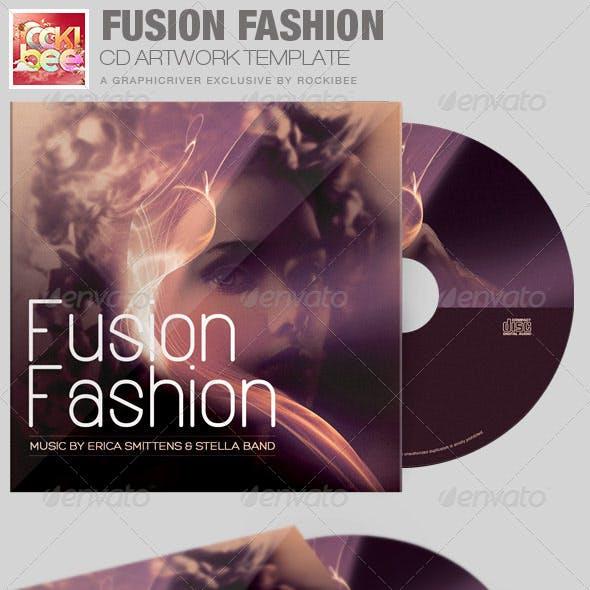 Fusion Fashion CD Artwork Template