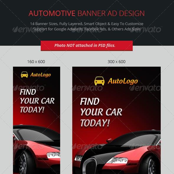 Automotive Banner Graphics Designs Templates