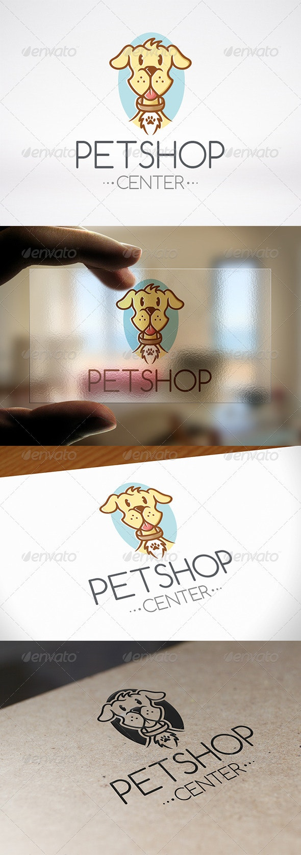 Pet Shop Logo Template - Animals Logo Templates