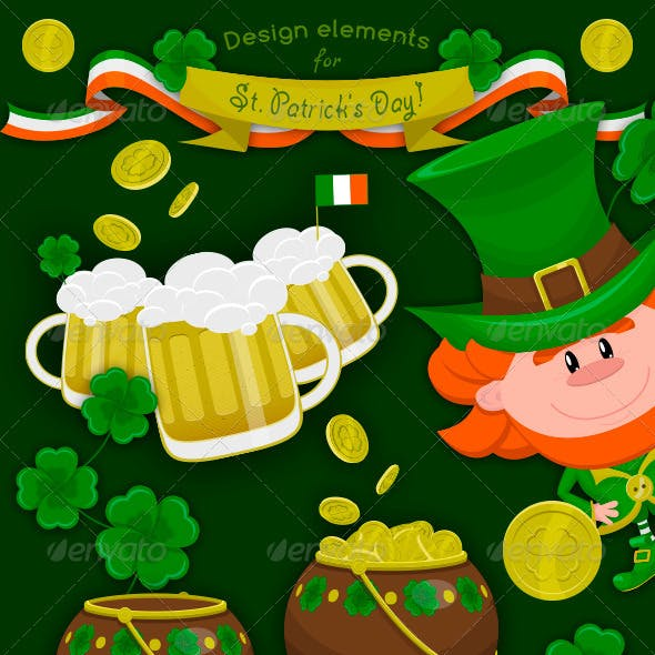Design Elements for St Patrick's Day