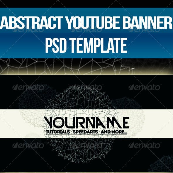 Abstract - YouTube One Channel Design Banner