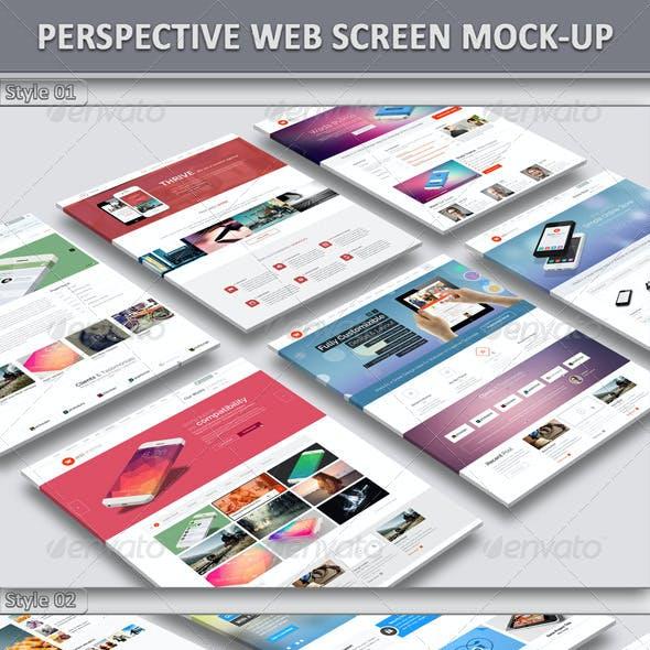 Perspective Website Mock-Up 01