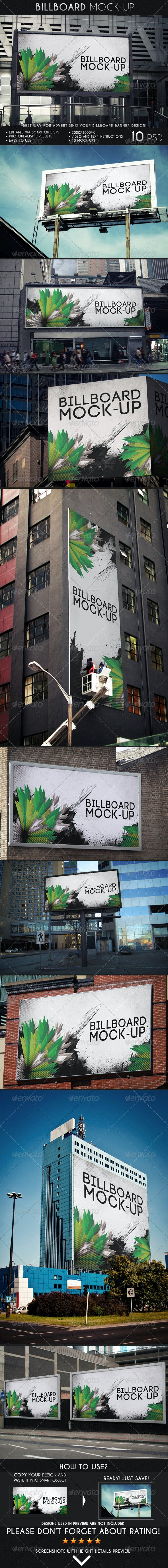 Billboard Mock-Up - Miscellaneous Print