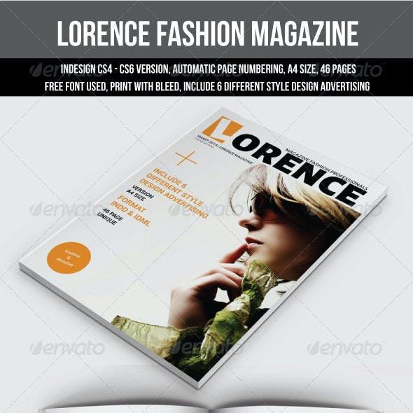 Lorence Fashion Magazine
