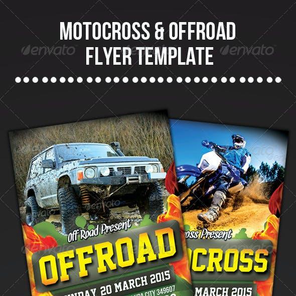 Motocross & Offroad Flyer