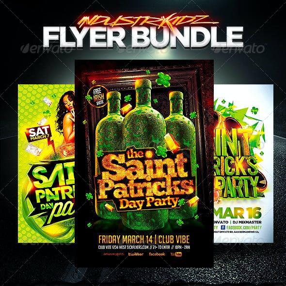 St Patricks Day Flyer Bundle