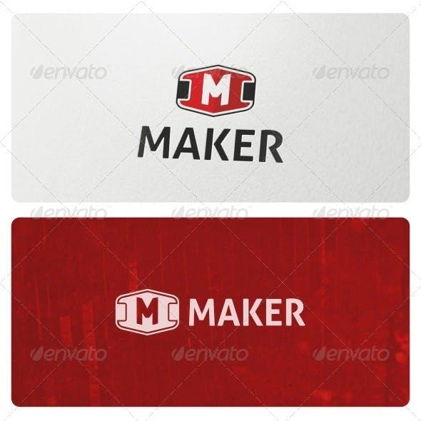 Maker Logo Template