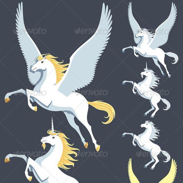 Pegasus Unicorn Stallion