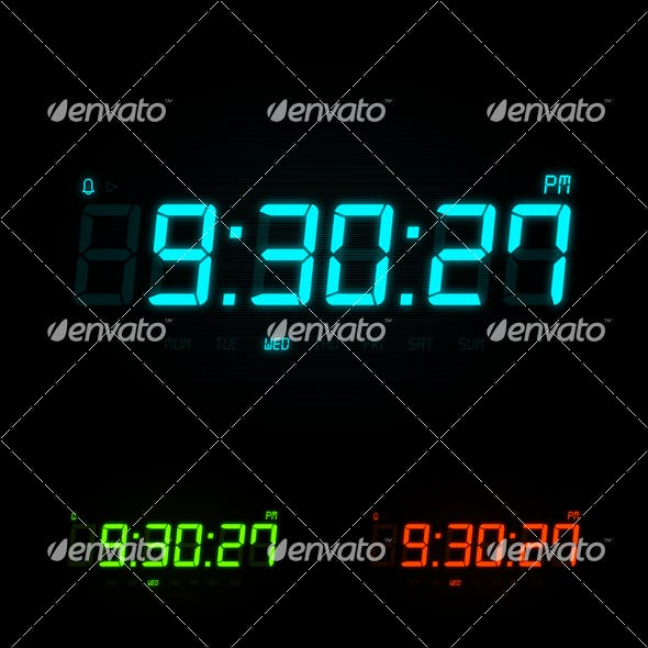 Digital Night Clock
