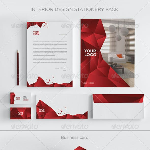 Interior Design Stationery