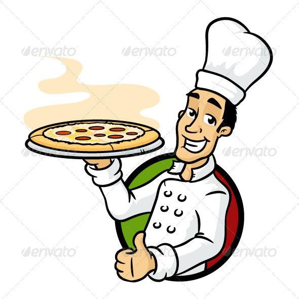 Pizza Chef by zoljo   GraphicRiver