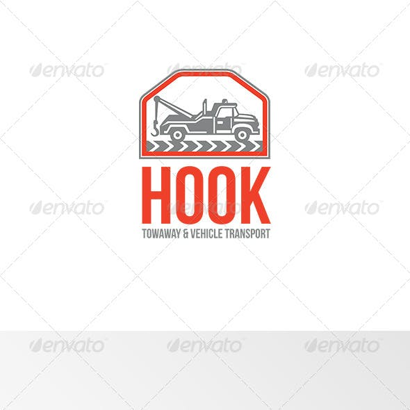 Hook Towaway and Vehicle Transport Logo