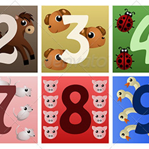 Numbers with Animals