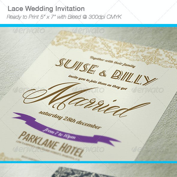 Free Download Wedding Invitation Templates From Graphicriver