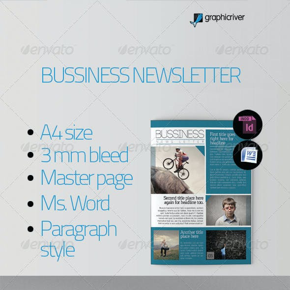 Bussiness Newsletter