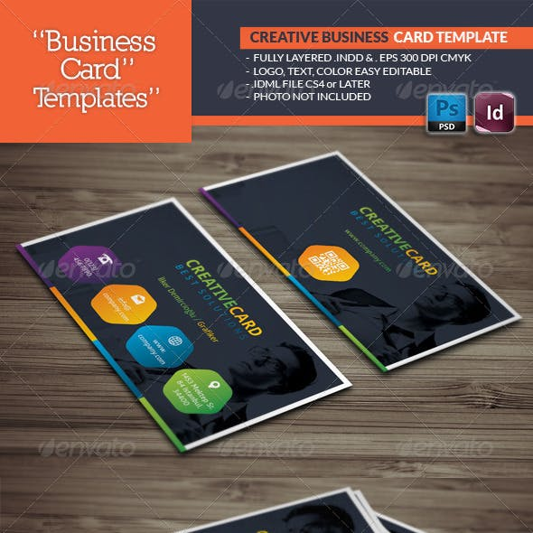 Creative Studio Business Card Template