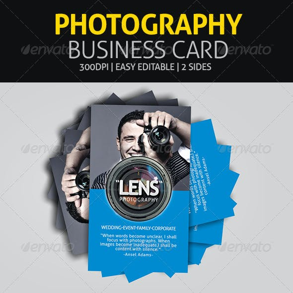Photography - Business Card
