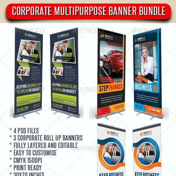 3 in 1 Corporate Rollup Banner Bundle 01